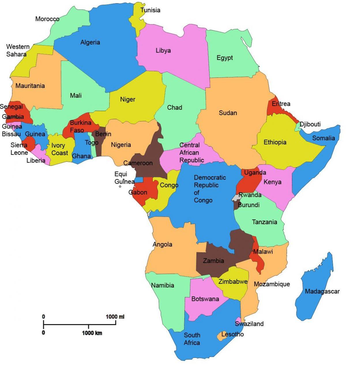 Karte Afrika.Tansania Afrika Karte Karte Von Afrika Zeigt Tansania Ost Afrika